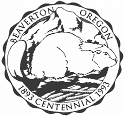 City Seal of Beaverton (bw)