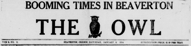 The Owl Jan 3 1914